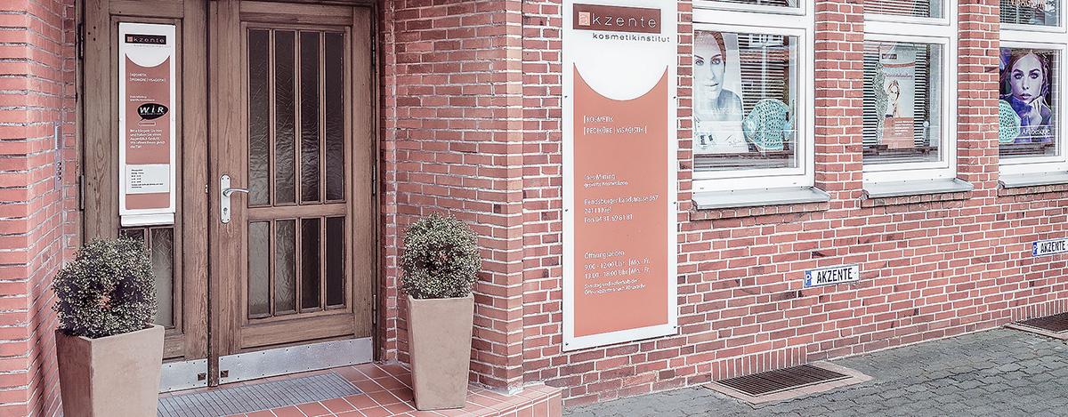 Aktente Kosmetikinstitut in der Rendsburg Landstraße, Kiel Russeer